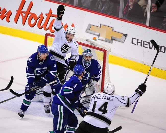 Vancouver Canucks vs. Los Angeles Kings - 3/12/15 NHL Pick, Odds, and Prediction