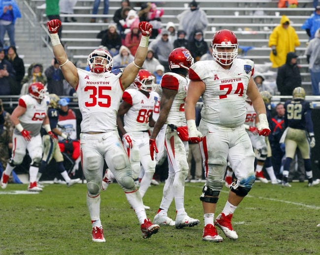 Louisville Cardinals vs. Houston Cougars - 9/12/15 College Football Pick, Odds, and Prediction
