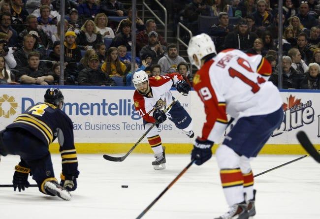 Florida Panthers vs. Buffalo Sabres - 10/15/15 NHL Pick, Odds, and Prediction