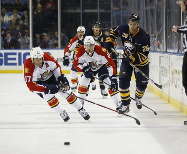 NHL | Buffalo Sabres (19-38-5) at Florida Panthers (26-22-13)