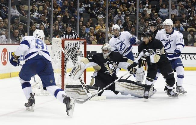 Lightning vs. Penguins - 1/15/16 NHL Pick, Odds, and Prediction