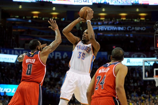 Washington Wizards vs. Oklahoma City Thunder - 1/21/15 NBA Pick, Odds, and Prediction