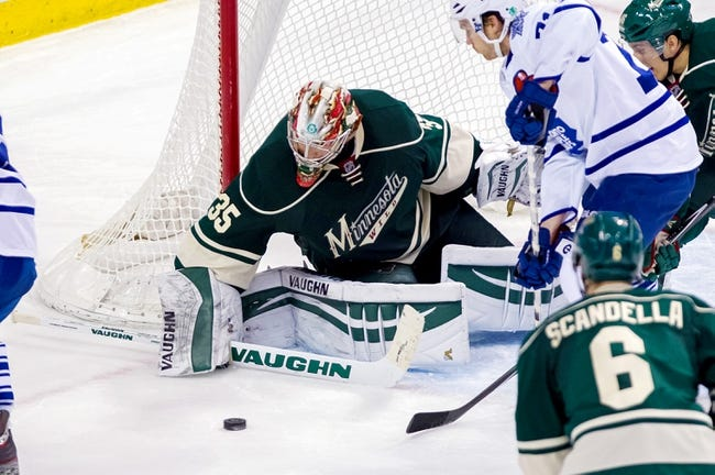 Maple Leafs vs. Wild - 3/23/15 NHL Pick, Odds, and Prediction