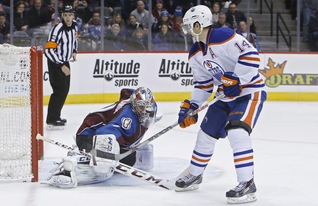 Edmonton Oilers vs. Colorado Avalanche - 3/25/15 NHL Pick, Odds, and Prediction