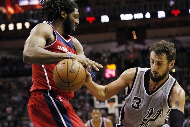 Washington Wizards vs. San Antonio Spurs - 1/13/15 NBA Pick, Odds, and Prediction