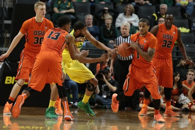 Oregon State vs. Arizona State - 1/8/15 College Basketball Pick, Odds, and Prediction