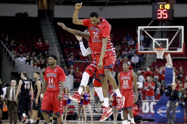 Fresno State vs. Utah State - 1/7/15 College Basketball Pick, Odds, and Prediction
