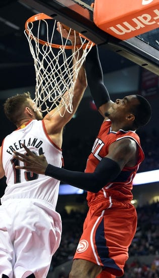 Hawks vs. Trail Blazers 1/30/15 -  NBA Pick, Odds, and Prediction