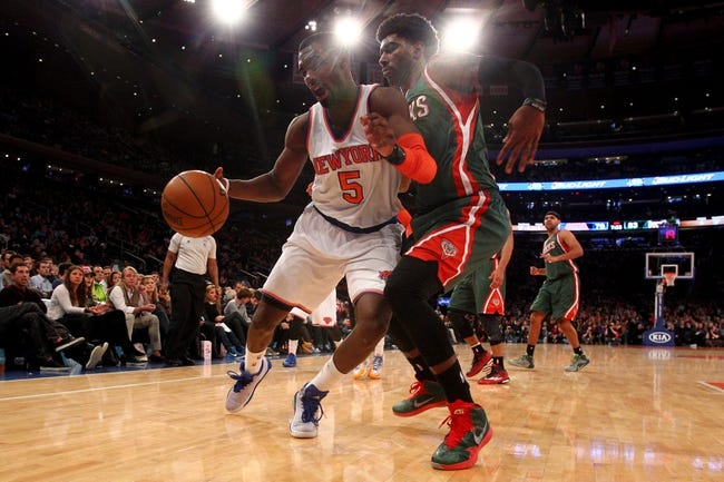 Bucks vs. Knicks - 1/15/15 NBA Pick, Odds, and Prediction