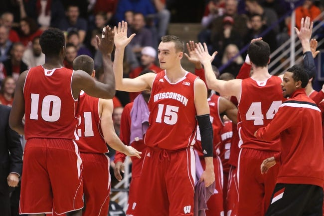 Wisconsin vs. Purdue - 1/7/15 College Basketball Pick, Odds, and Prediction