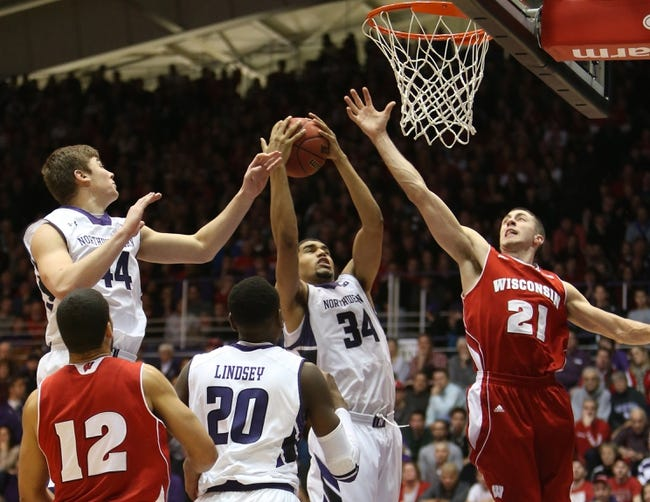 Wisconsin vs. Northwestern - 2/7/15 College Basketball Pick, Odds, and Prediction