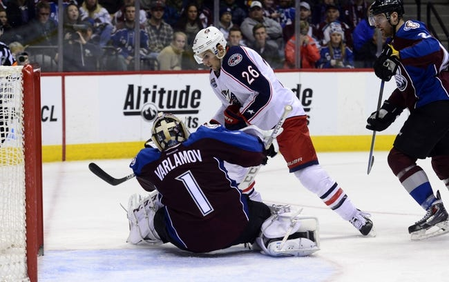 Columbus Blue Jackets vs. Colorado Avalanche - 3/7/15 NHL Pick, Odds, and Prediction