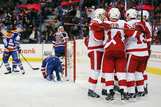 Red Wings vs. Oilers - 3/9/15 NHL Pick, Odds, and Prediction