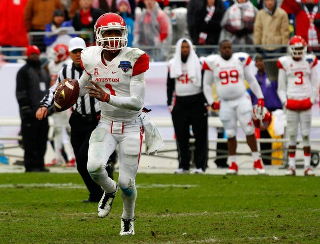 Houston Cougars vs. Tennessee Tech Golden Eagles - 9/5/15 College Football Pick, Odds, and Prediction