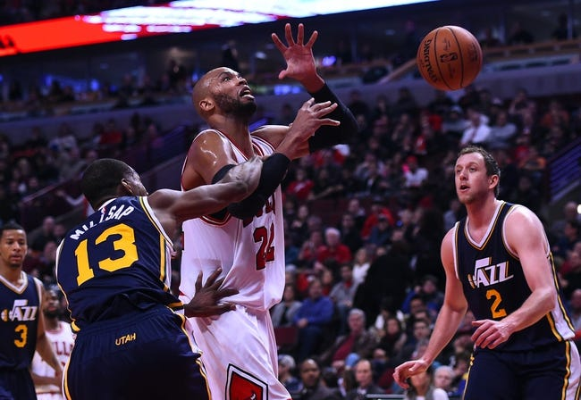Utah Jazz vs. Chicago Bulls - 2/1/16 NBA Pick, Odds, and Prediction