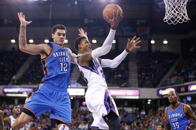 Oklahoma City Thunder vs. Sacramento Kings - 4/10/15 NBA Pick, Odds, and Prediction