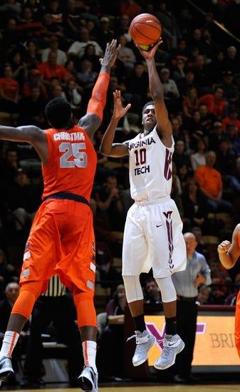 Syracuse Orange vs. Virginia Tech Hokies - 2/3/15 College Basketball Pick, Odds, and Prediction
