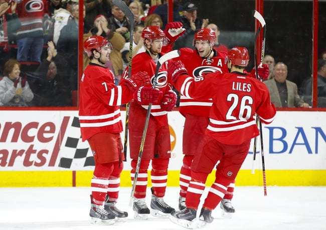 Arizona Coyotes vs. Carolina Hurricanes - 2/5/15 NHL Pick, Odds, and Prediction
