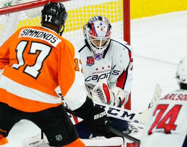 Washington Capitals vs. Philadelphia Flyers - 1/14/15 NHL Pick, Odds, and Prediction