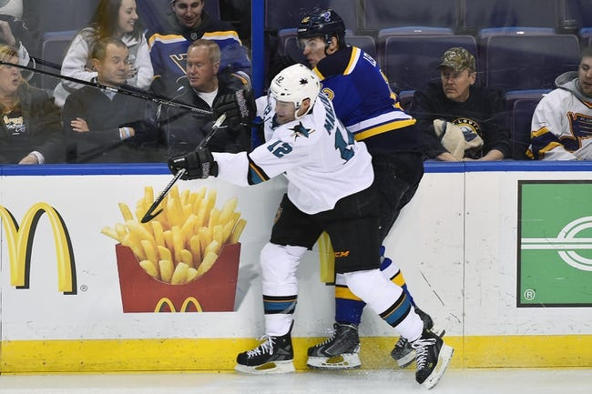 Blues vs. Sharks - 2/4/16 NHL Pick, Odds, and Prediction