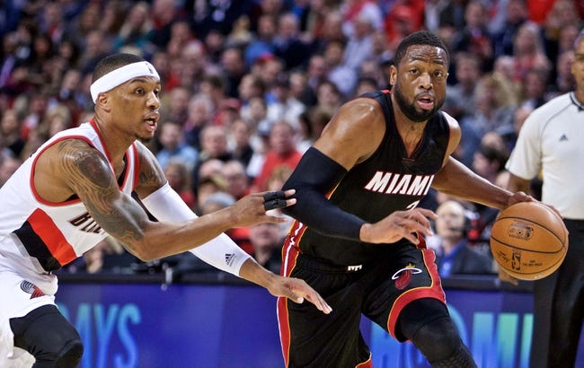 Miami Heat vs. Portland Trail Blazers - 12/20/15 NBA Pick, Odds, and Prediction