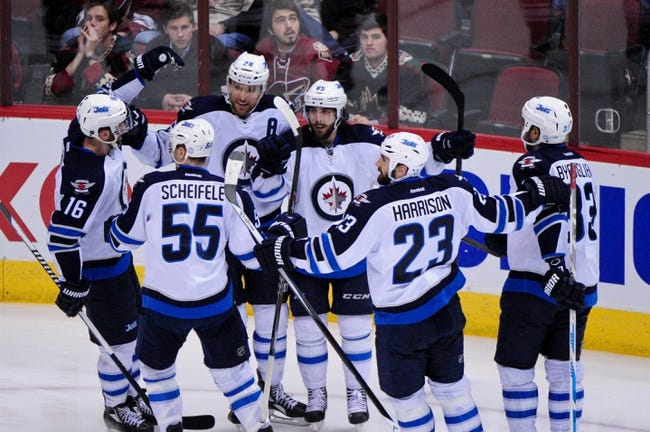 Winnipeg Jets vs. Arizona Coyotes - 1/18/15 NHL Pick, Odds, and Prediction