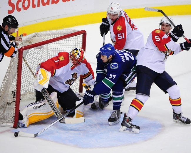 Panthers vs. Canucks - 1/19/15 NHL Pick, Odds, and Prediction