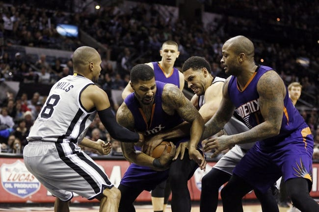 Suns vs. Spurs - 2/28/15 NBA Pick, Odds, and Prediction