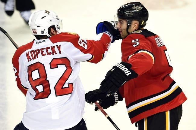Florida Panthers vs. Calgary Flames - 11/10/15 NHL Pick, Odds, and Prediction