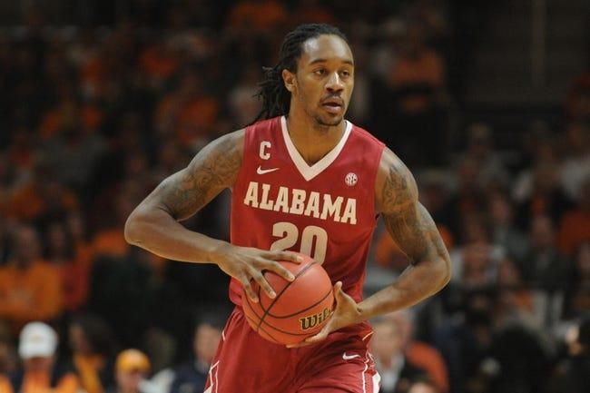 Alabama vs. Auburn - 1/24/15 College Basketball Pick, Odds, and Prediction