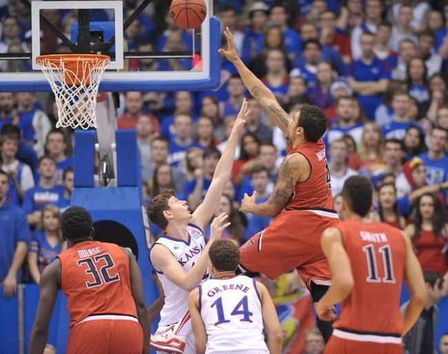 Texas Tech vs. Kansas - 2/10/15 College Basketball Pick, Odds, and Prediction