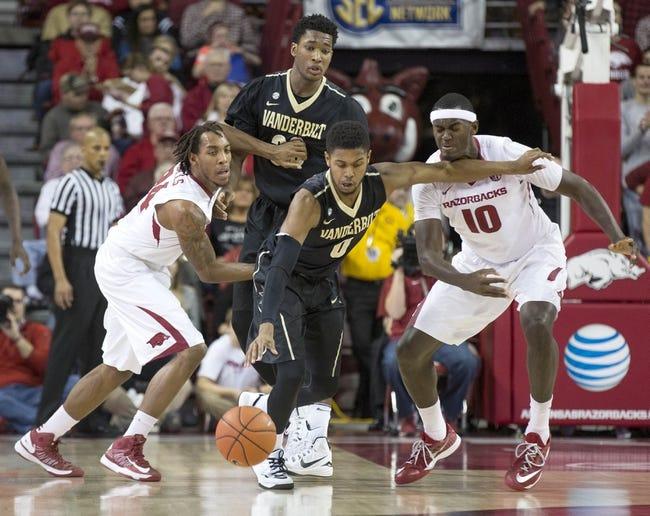 Vanderbilt vs. Georgia - 1/14/15 College Basketball Pick, Odds, and Prediction