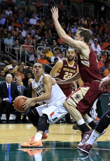 Boston College vs. Miami - 2/16/15 College Basketball Pick, Odds, and Prediction