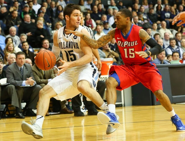 DePaul vs. Villanova - 1/31/15 College Basketball Pick, Odds, and Prediction