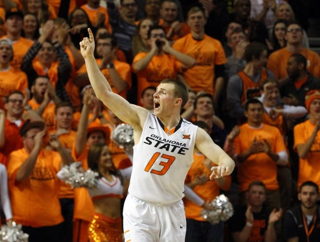 Kansas Jayhawks vs. Oklahoma State Cowboys - 1/13/15 College Basketball Pick, Odds, and Prediction