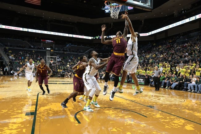 Arizona State vs. Oregon 1/30/15 -  College Basketball Pick, Odds, and Prediction