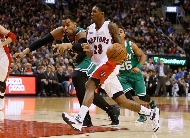 Toronto Raptors vs. Boston Celtics - 4/4/15 NBA Pick, Odds, and Prediction