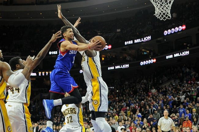 76ers vs. Pacers - 2/20/15 NBA Pick, Odds, and Prediction