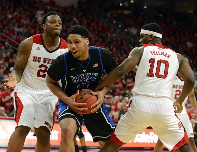 North Carolina State vs. Duke - 3/12/15 ACC Tournament Pick, Odds, and Prediction
