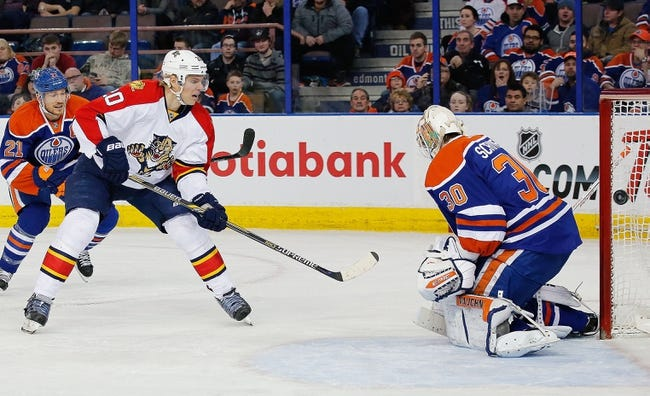 Panthers vs. Oilers - 1/17/15 NHL Pick, Odds, and Prediction