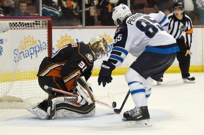 Anaheim Ducks vs. Winnipeg Jets - 4/16/15 NHL Pick, Odds, and Prediction