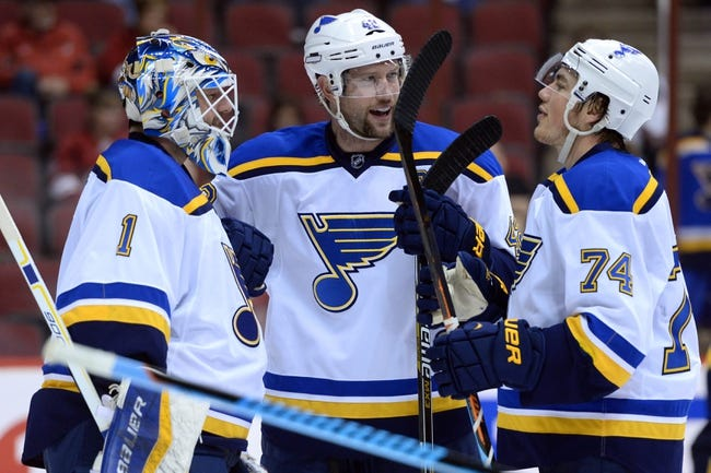 St. Louis Blues vs. Arizona Coyotes - 2/10/15 NHL Pick, Odds, and Prediction