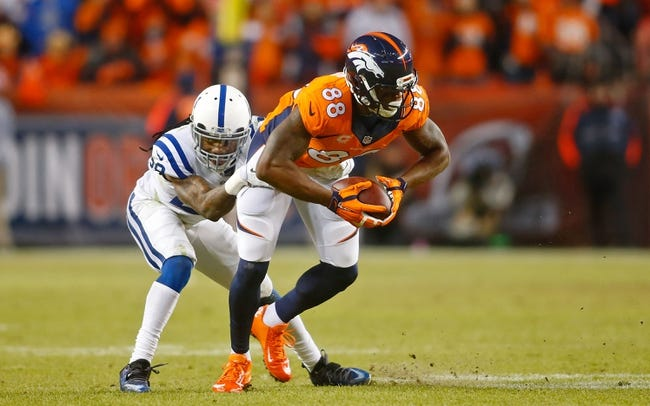 Top Ten Most Targeted NFL Receivers of 2014