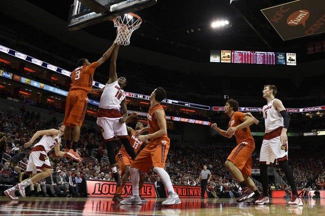 Virginia Tech Hokies vs. Louisville Cardinals - 1/27/16 College Basketball Pick, Odds, and Prediction