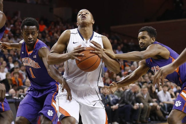 Virginia Cavaliers vs. Clemson Tigers - 1/19/16 College Basketball Pick, Odds, and Prediction