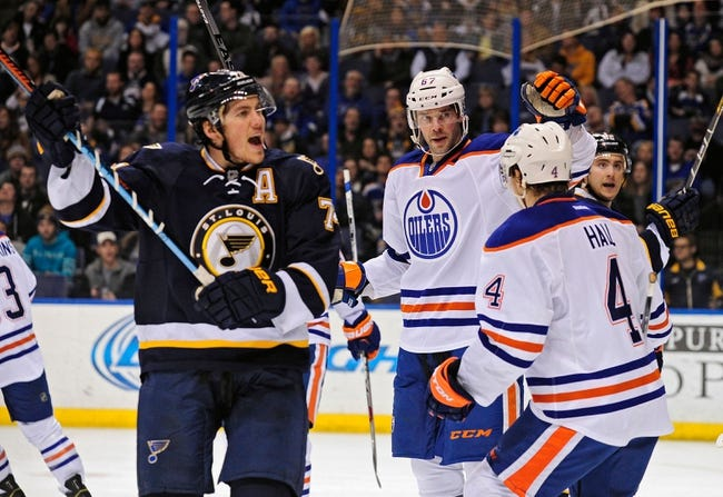 Edmonton Oilers vs. St. Louis Blues - 2/28/15 NHL Pick, Odds, and Prediction