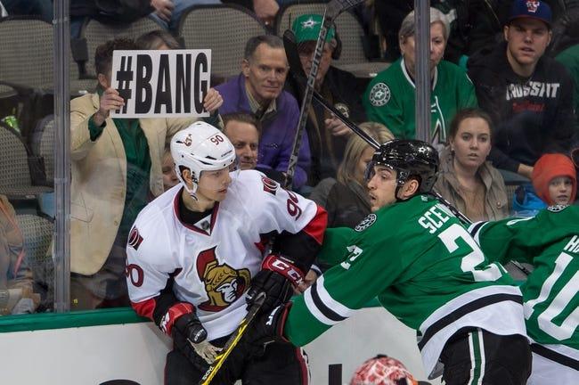 NHL | Dallas Stars (21-19-7) at Ottawa Senators (19-18-9)