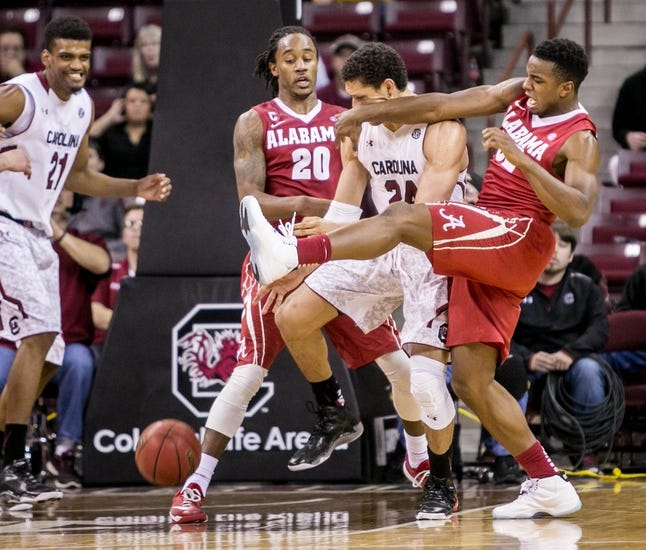 Alabama vs. South Carolina - 2/24/15 College Basketball Pick, Odds, and Prediction