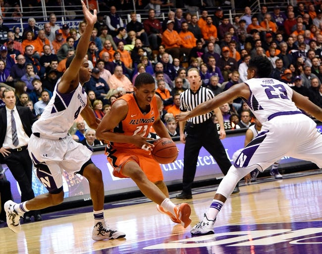 Illinois vs. Northwestern - 2/28/15 College Basketball Pick, Odds, and Prediction