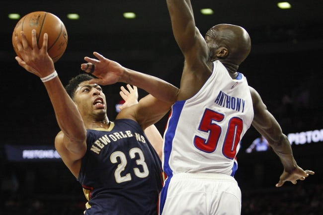 New Orleans Pelicans vs. Detroit Pistons - 3/4/15 NBA Pick, Odds, and Prediction